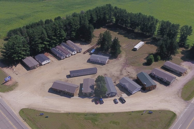 Dells office aerial view